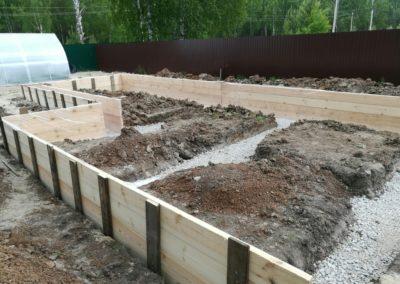 Строительство бани и беседки 3