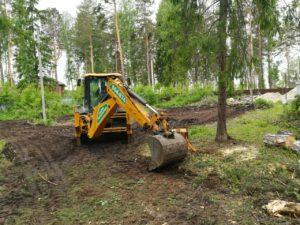 Подготовка к строительству дома и бани 4
