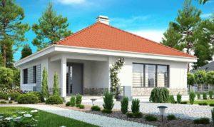 Проект одноэтажного дома из керамзитоблоков в Тюмени s24-139-1