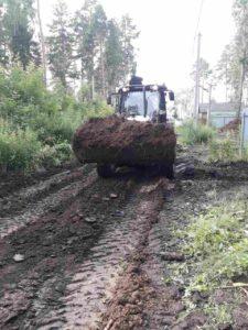 Закончены работы по заливке фундаментов в Перевалово.