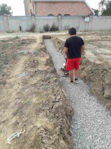 Начало строительства в Суходолье