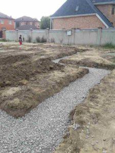Начало строительства в Суходолье 2
