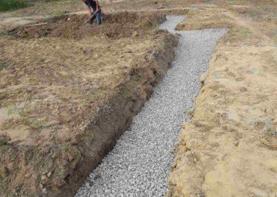Начало строительства в Суходолье 3