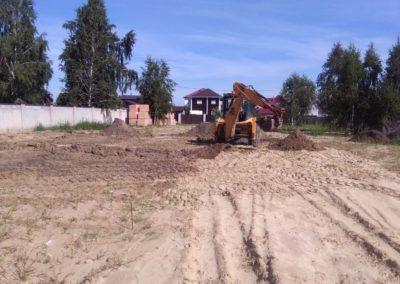 Начало строительства в Суходолье 4