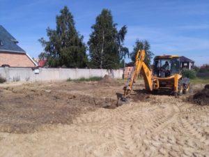 Начало строительства в Суходолье 5