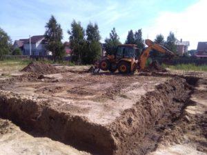 Начало строительства в Суходолье 6
