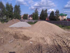 Начало строительства в Суходолье 7