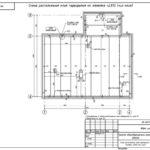 19 Схема расположения плит чердачного перекрытия