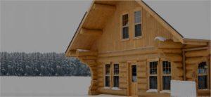 Строительство домов из рубленного бревна хэдер