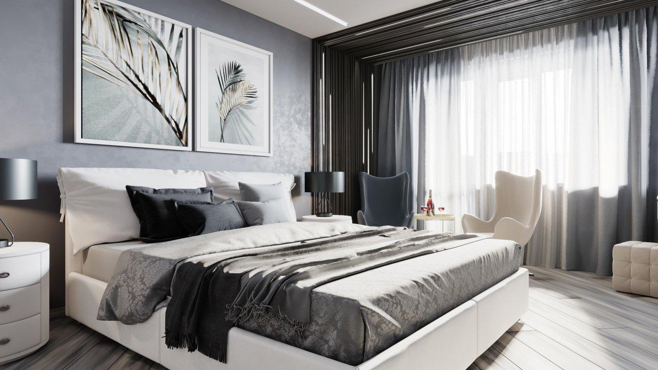 Дизайн интерьера спальни Тюмень