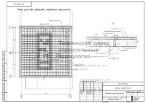 Схема раскладки обрешетки чердачного перекрытия