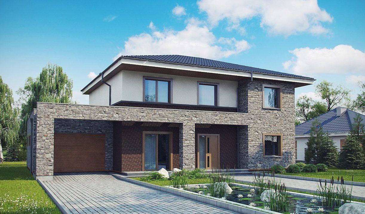 Проект кирпичного дома tg11-300